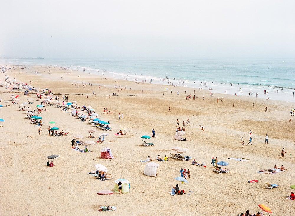 Image of Beach scene Morocco