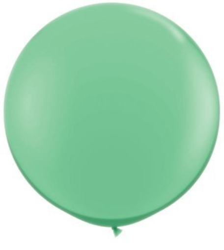 Image of Giant Round Balloons - Wintergreen