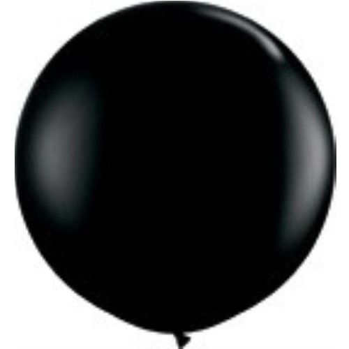 Image of Giant Round Balloons - Black