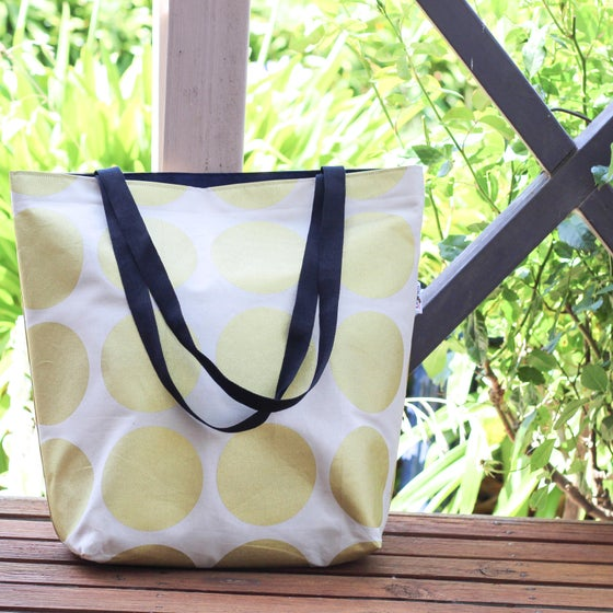 Image of Gold Spot Tote Bag