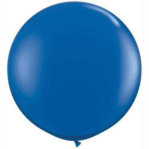 Image of Giant Round Balloons - Sapphire Blue