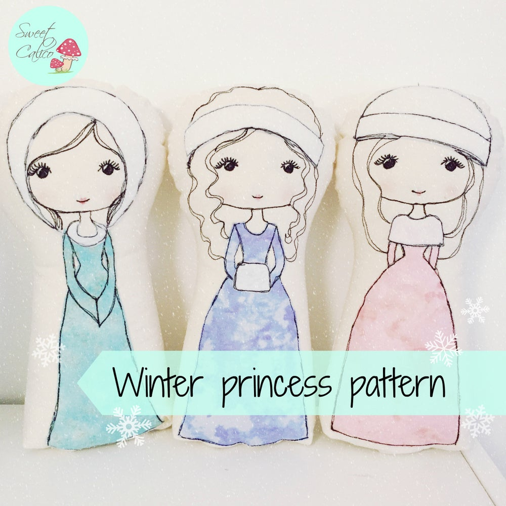 Image of Pattern for Winter Princesses
