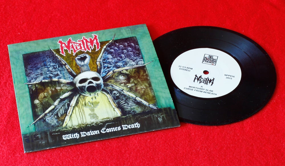 Image of With dawn comes Death 7""