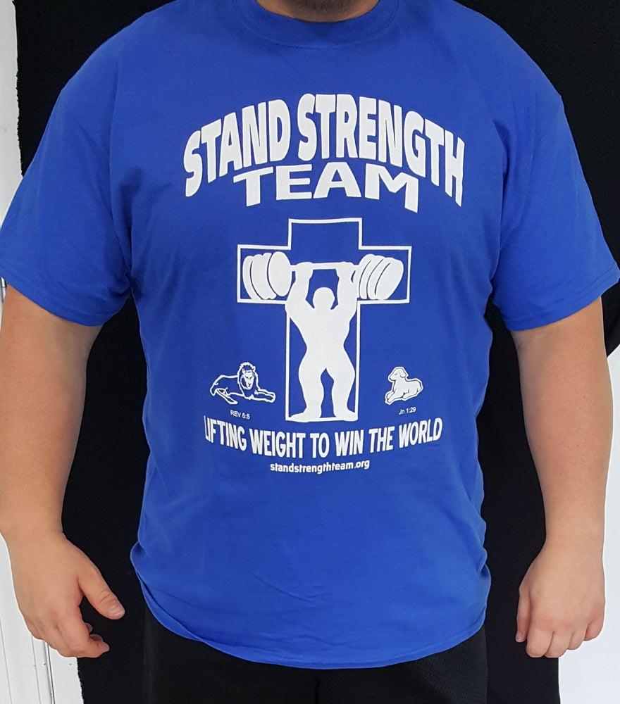 Image of Kentucky Blues Stand Strength Team Shirt