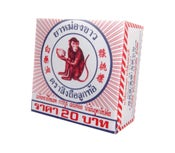 Image of White Monkey Balm Ancient Muay Thai Herbal Massage Pain Relief Ointment
