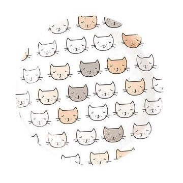 Image of Kitten Party Large Plates