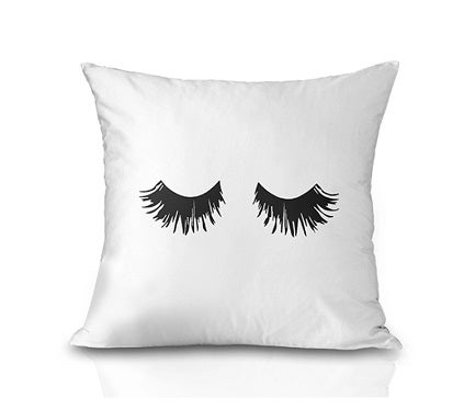 Image of Lash Throw Pillow Cover-Lashed