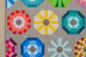 Image of SEA URCHINS pdf quilt pattern