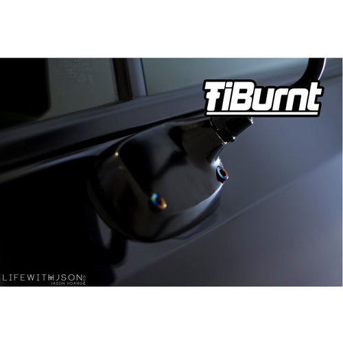 Image of TiBurnt Titanium FRS/BRZ/86 Craft Square Mirror Bolts