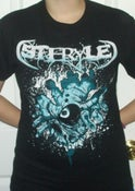 Image of Steryle Blue Peek-a-boo T-Shirt