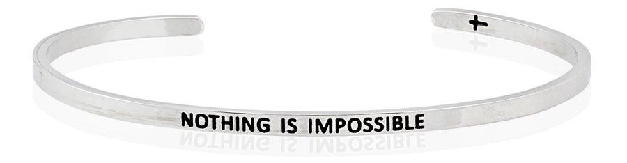 Image of Nothing Is Impossible bracelet by FaithfulBand