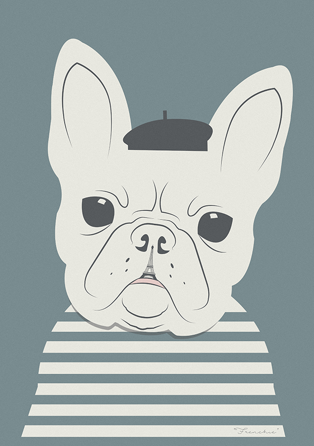 Image of Different Breeds - Frenchie