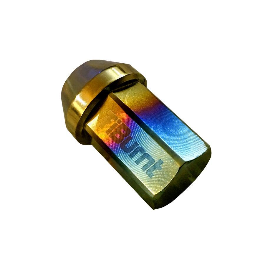 Image of TiBurnt Titanium Lug Nuts - Closed End