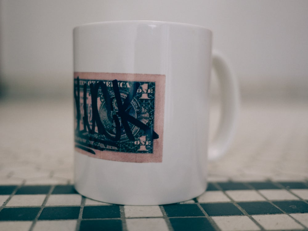"Image of ""GOODLUCK"" Coffee/Tea/Liquor Mug"