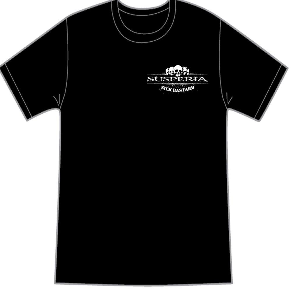 Image of Susperia - Sick Bastard - T-shirt