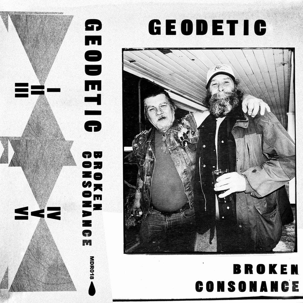 Image of Geodetic - Broken Consonance C30 tape (MDR018)