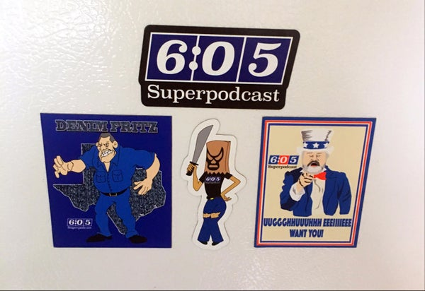 Image of Superpodcast Magnet Set