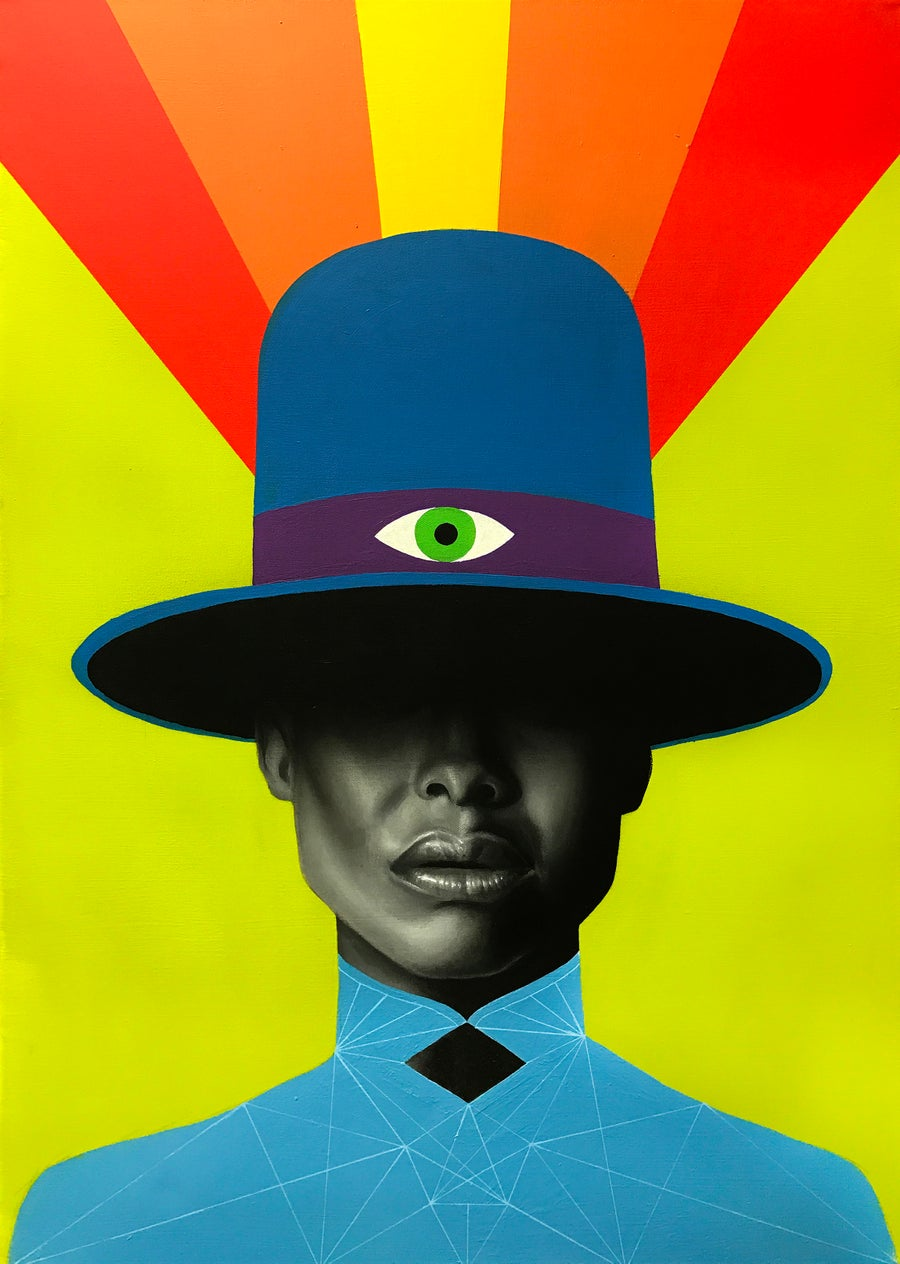 "Image of ""Badu"" Limited Edition Print"