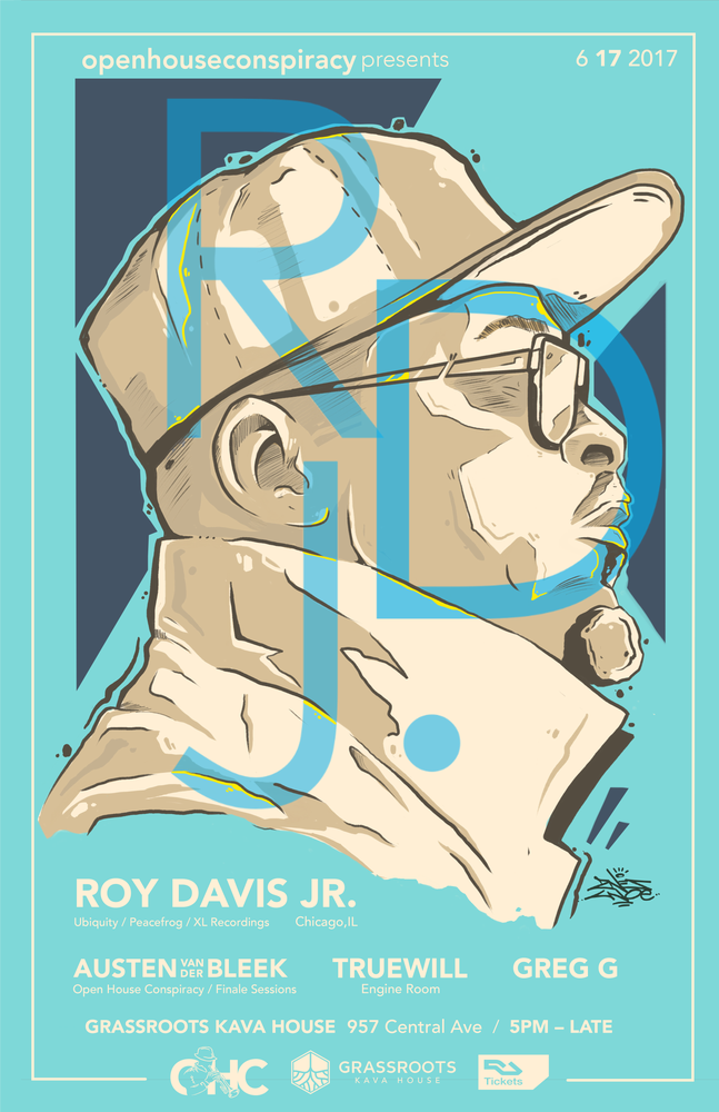 Image of Roy Davis Jr. Ticket — Early Bird