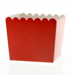 Image of Red Scallop Favour Box