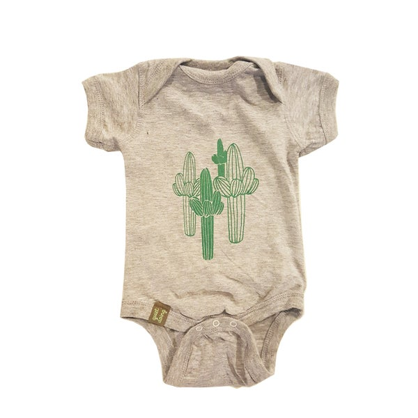 Image of Saguaro ) Infant Fine Jersey Onesie