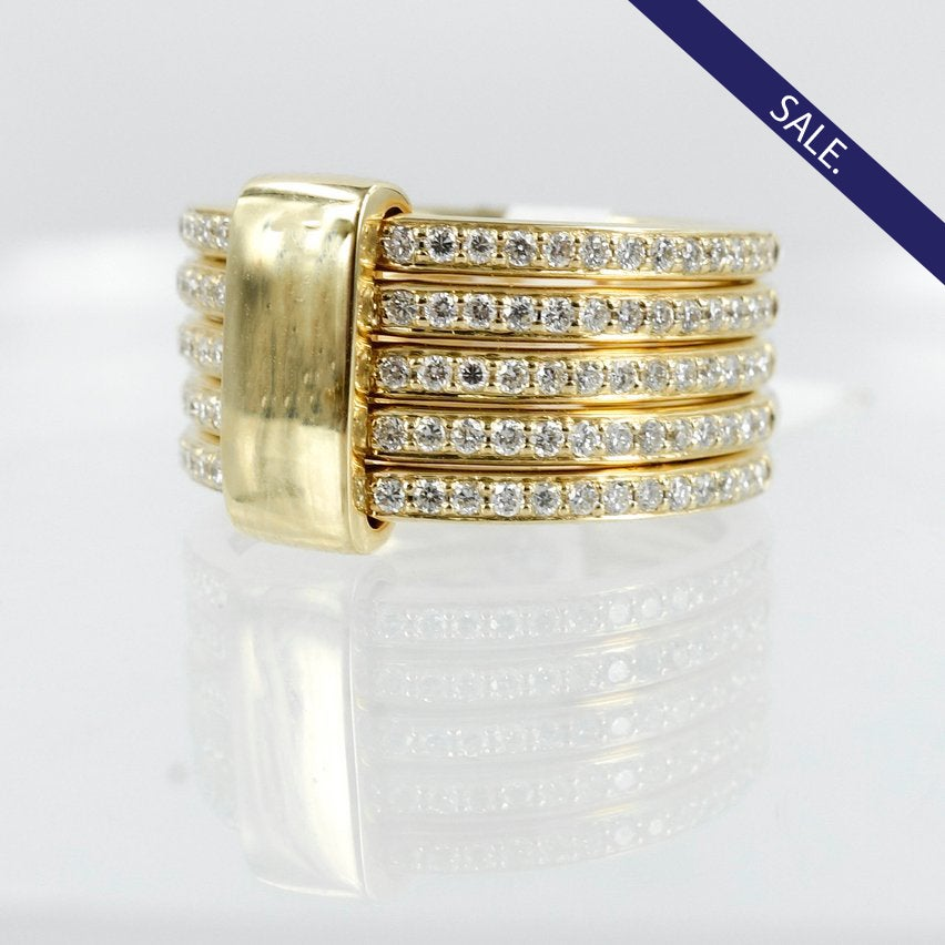 Image of Diamond dress ring