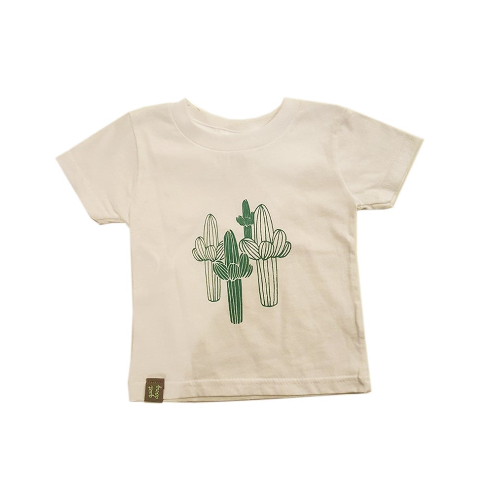Image of Saguaro ) Infant and Toddler Fine Jersey Tee