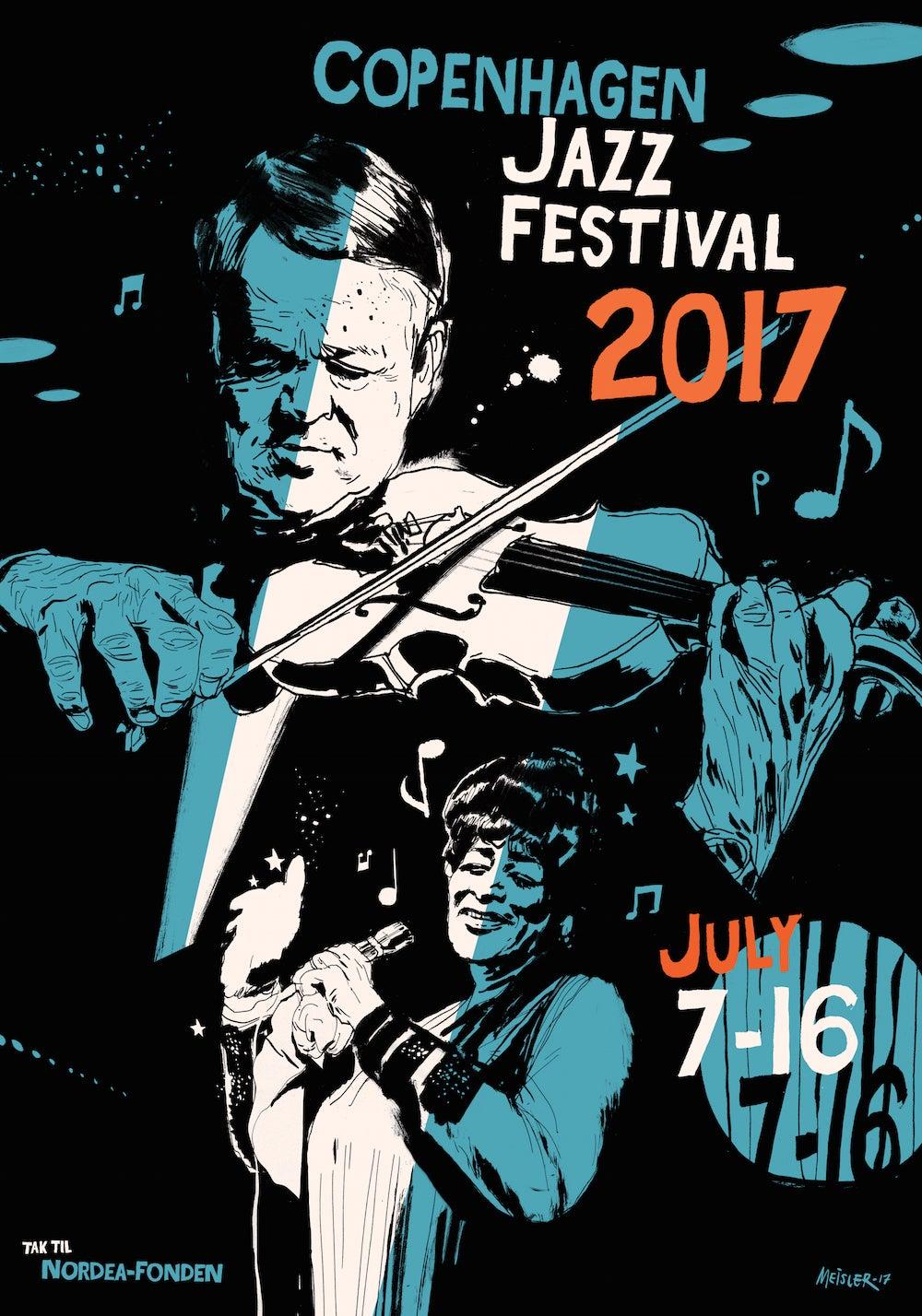 Montreux Jazz Festival 2015 >> Festival poster – Copenhagen Jazz Festival 2017 / Copenhagen Jazz Festival