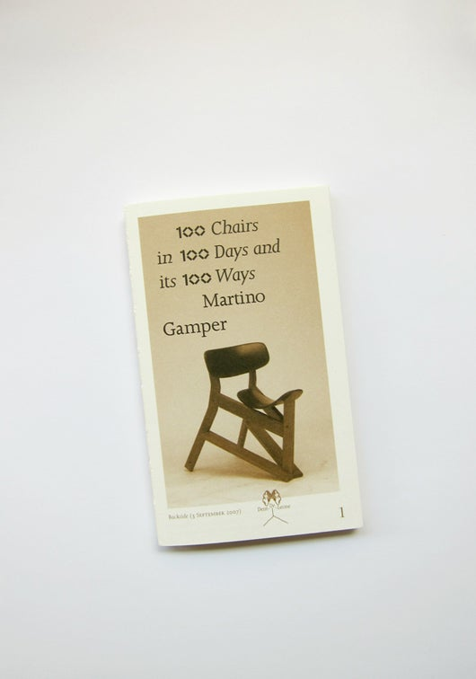 Image of 100 Chairs in 100 Days and its 100 Ways. (4th Edition, 4th Size)