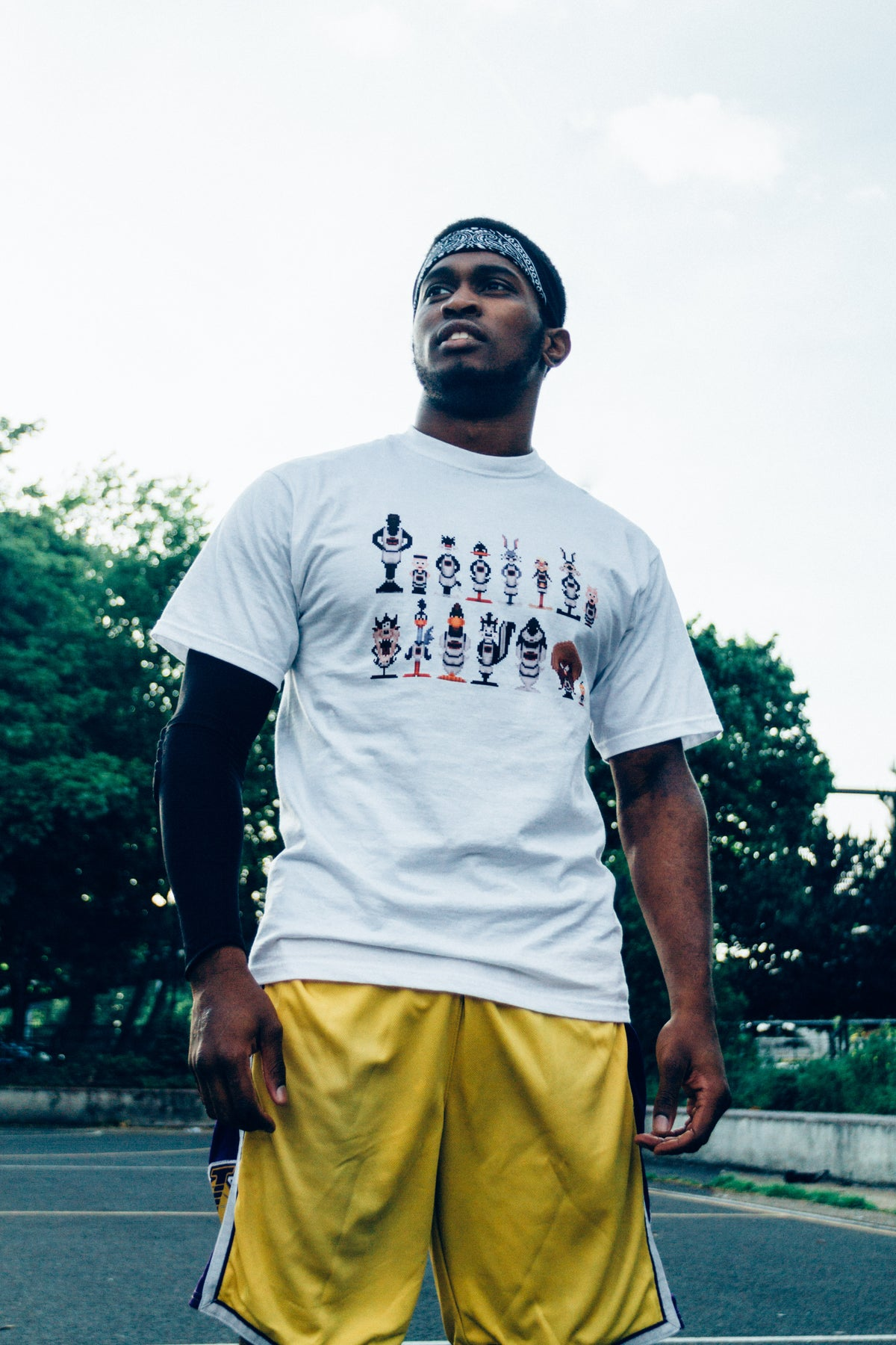 Image of Space Jam T in White