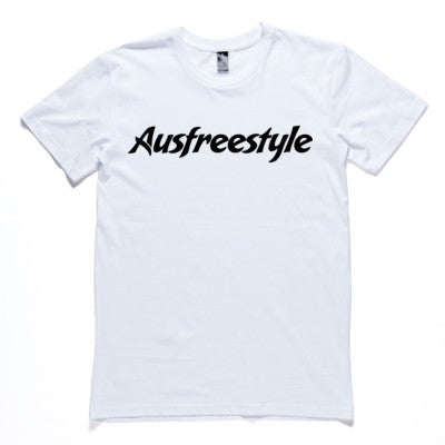 Image of Original Ausfreestyle Mens Tee - White