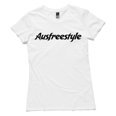 Image of Original Ausfreestyle Womens Tee - White