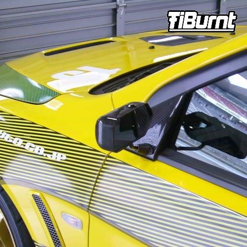Image of TiBurnt Titanium EVO X JUN Aero Mirror Bolts