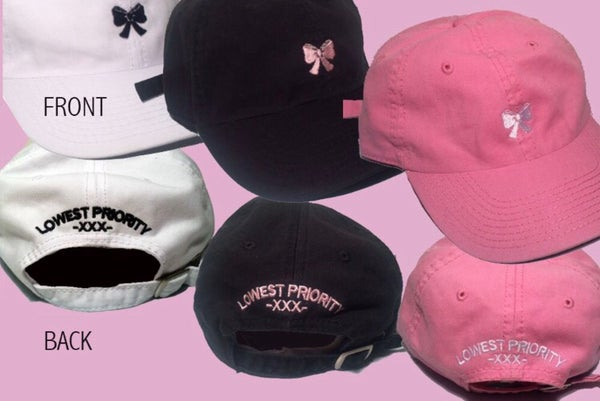 Image of ON SALE Hat (Black/Pink/White)