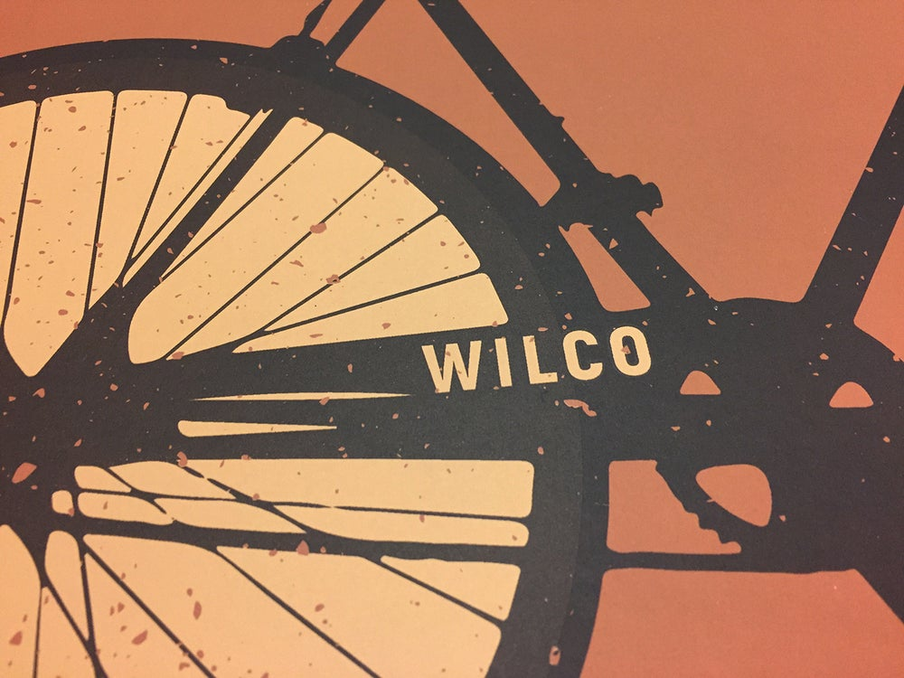 Image of  Wilco The Bicycle City Poster