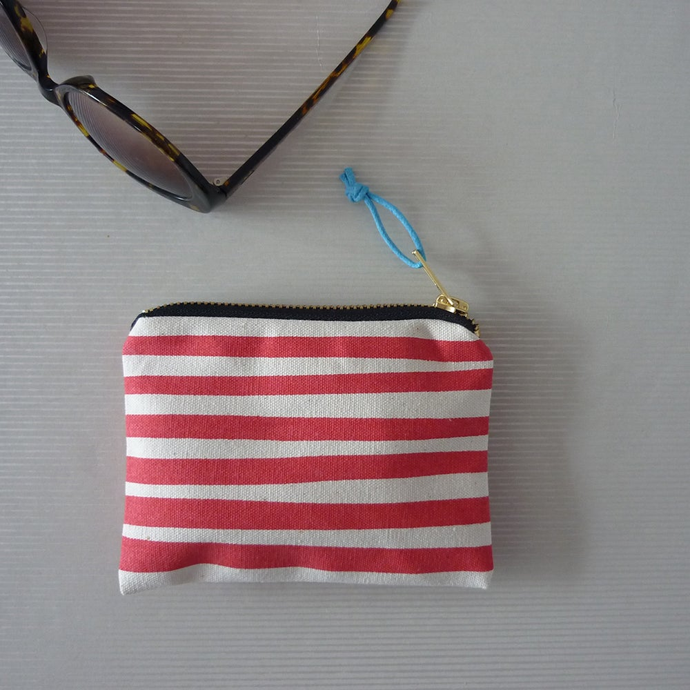 Image of Stripe Small Purse