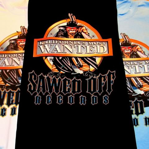 Image of Sawedoff Records T-Shirt