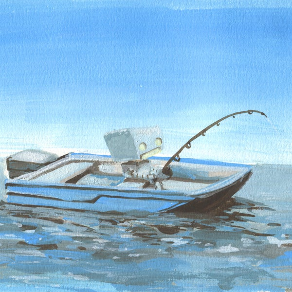 Fishing For... - Matt Q. Spangler Illustration