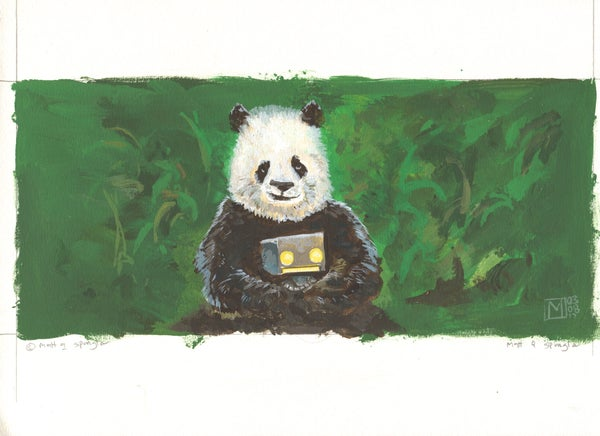Panda On Your Side - Matt Q. Spangler Illustration
