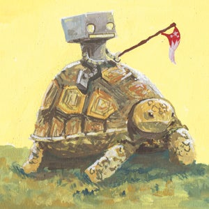 Turtle away! - Matt Q. Spangler Illustration