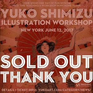 Image of SOLD OUT: one day illustration workshop in New York