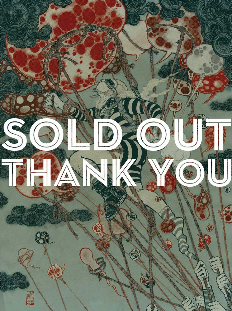 Image of SOLD OUT: limited edition of 40:  print BLOW UP 1 (signed, numbered + sealed)