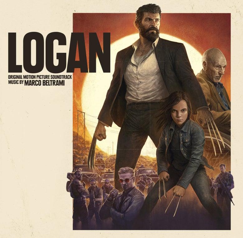 Image of Logan (Original Motion Picture Soundtrack) 2 x 'Black Vinyl' - Marco Beltrami