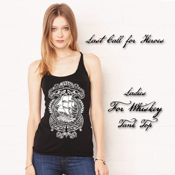 "Image of Ladies LCFH ""For Whiskey"" Tank Top"