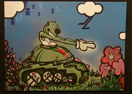 """Image of """"Road To Awesome"""" Painting on canvas"""