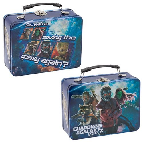 Image of Guardians of the Galaxy Vol. 2 Large Tin Tote