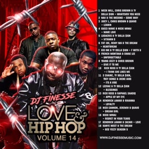 Image of LOVE & HIP HOP MIX VOL. 14 (HIP-HOP/R&B COLLABOS)