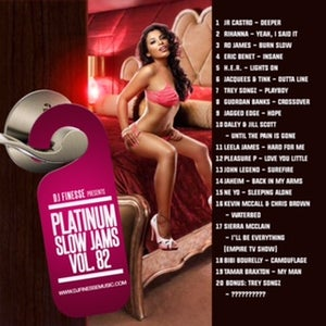 Image of PLATINUM SLOW JAMS MIX VOL. 82
