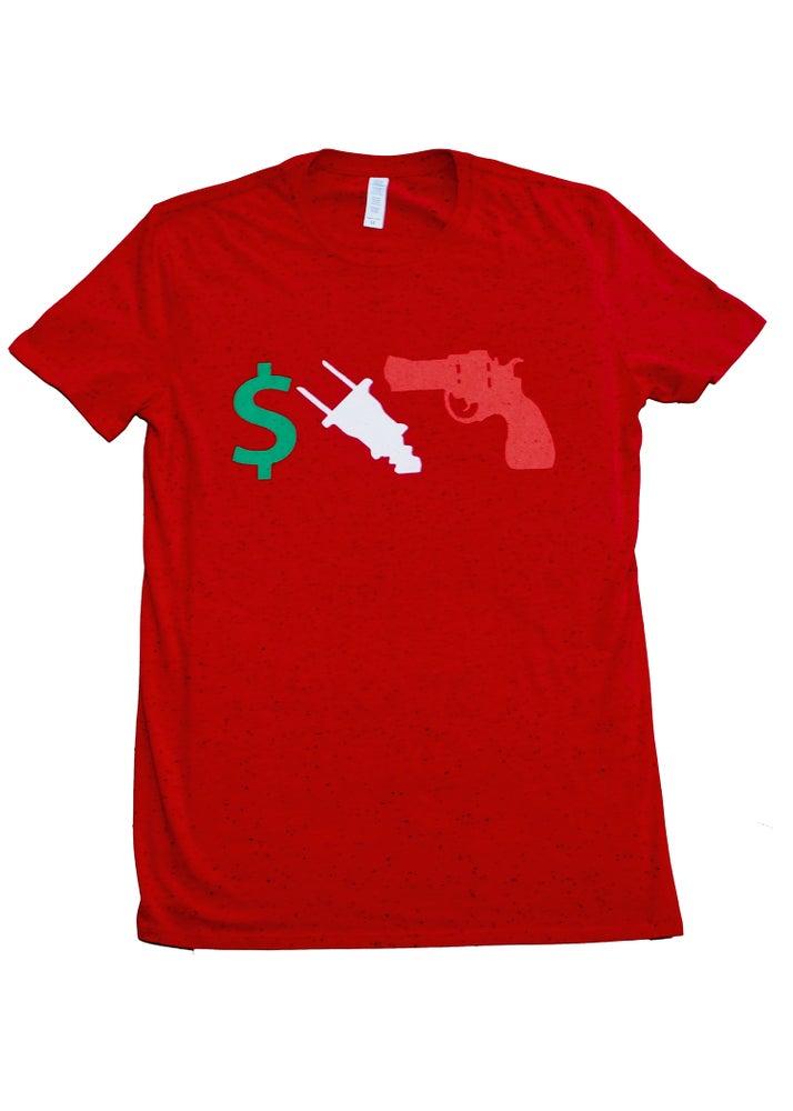 Image of MONYPOWRSPT HoodWolf T-Shirt