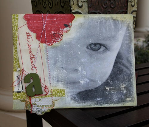 Image of Photo Transfer to Canvas Kit